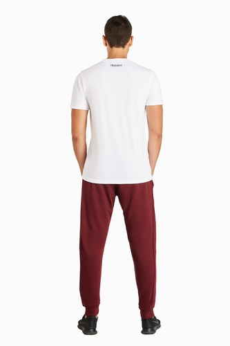 Maksters Burgundy SweatPants